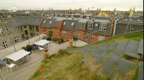 Kopenhag'da Uğruna Yıllarca Savaşılmış Bir 'Çatı' Bahçe
