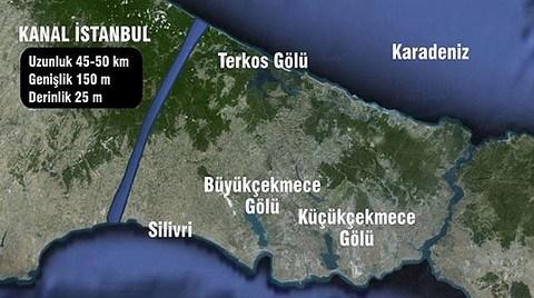 Kanal İstanbul da İhaleye Çıkıyor