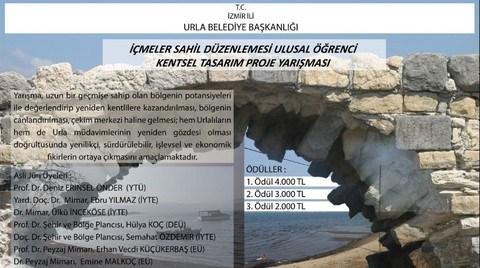 Urla Belediyesi İçmeler Sahil Düzenlemesi Ulusal Öğrenci Kentsel Tasarım Proje Yarışması