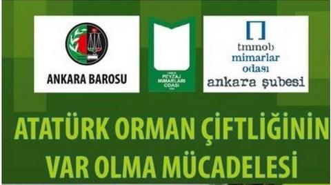 Atatürk Orman Çiftliği'nin Var Olma Mücadelesi Paneli