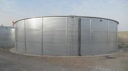Ekotank Su Depolama Tankları Umman Muscat Havaalanında
