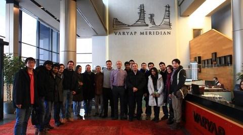 Varyap ile Colombia Üniversitesi Buluştu