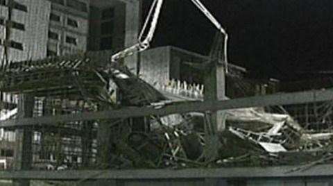 Bir İş Kazası Haberi de Olimpik Köy İnşaatından: 6 Yaralı