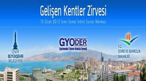 4. Gelişen Kentler Zirvesi İzmir'de Düzenlendi