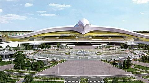 2 Milyar 253 Milyon Dolarlık Aşkabat Havalimanı İhalesi Polimeks İnşaat'ın