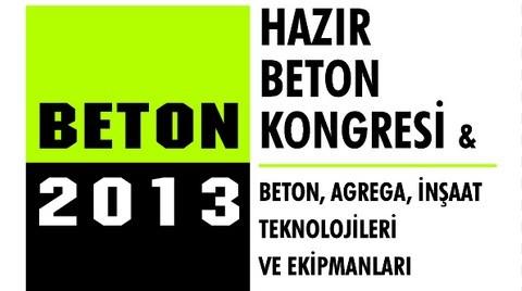 Beton 2013 Kongresi ve Fuarı