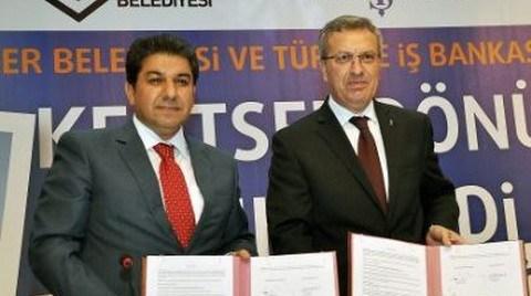 Kentsel Dönüşüm İçin İş Bankası'yla Protokol İmzalandı