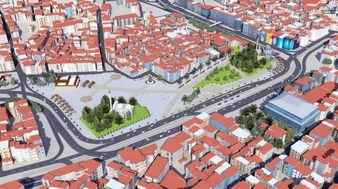 Büyükşehir Belediyesi Aksaray ve Beyazıt Meydanlarını da Yayalaştırıyor