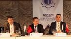 Prof. Dr. Kerem Alkin (sol başta), Dr. Can Fuat Gürlesel ve Yrd. Doç. Dr. Av. Harun Kılıç