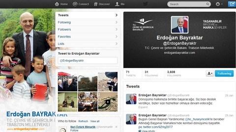 Bayraktar Kentsel Dönüşümü Twitter'da Anlatıyor