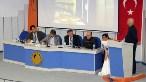Toplantıda, JSC Atomstroyexport AŞ İnşaat-Montaj İşleri Bölüm Başkanı Sergey Karnausenko da bir sunum yaptı (Fotoğraflar: Başır Gülüm / AA)
