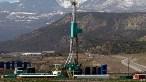 ABD'de fracking teknolojisini kullanan bir tesis