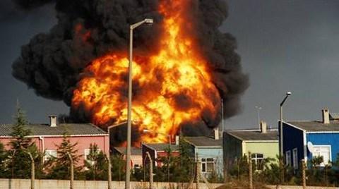 Tuzla'da yine Fabrika Yangını