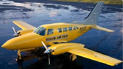 """İller Arası """"Hava Taksi""""ler Uçacak"""