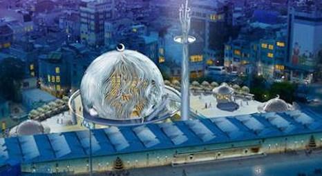 Taksim Cami Projesi'nde Revizyon