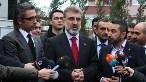 Steelife Genel Müdürü Bülent Aydın (solda) Taner Yıldız ve Vefa Başkanı Orhan Güner