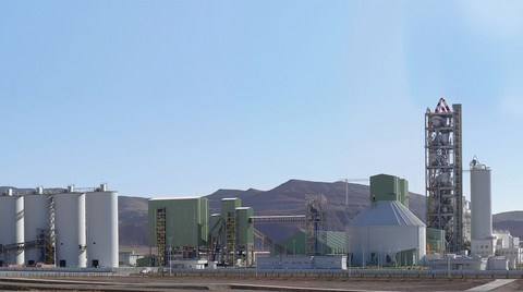 Polimeks'ten Türkmenistan'a 'Anahtar Teslim' Çimento Fabrikası