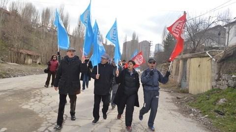 Başkent Dayanışması 'Barınma Hakkı' için Yürüdü
