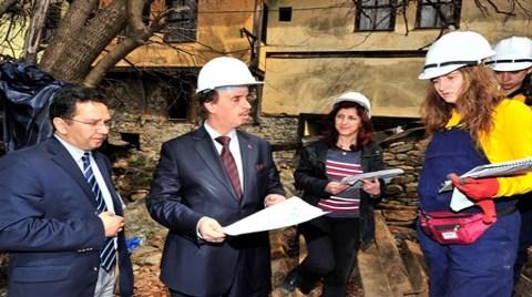 Osmanlı Köyü Cumalıkızık'ta Restorasyon