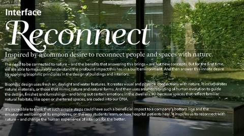 """Interface """"Reconnect""""  Yarışmasına Doğasever Tasarımcıları Bekliyor"""