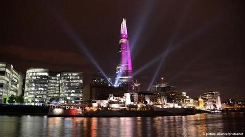 'London Eye' Eskidi; Londra'yı bir de 'Shard'dan Görün