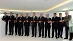 Açılış törenine, Başbakan Yardımcısı Ali Babacan'ın yanısıra Türkiye İhracatçılar Meclisi (TİM) Başkanı Mehmet Büyükekşi ve Türk Eximbank Genel Müdürü Hayrettin Kaplan da katıldılar (Foto: Metin Pala / AA)