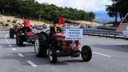 İzmir'de Traktörlü 2B Eylemi