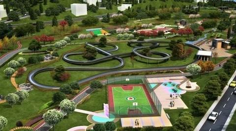 Ankara'ya 10 Park Yolda