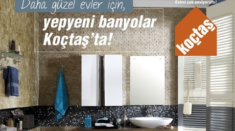 KOÇTAŞ'ın 2013 Banyo & Mutfak Katoloğu Çıktı