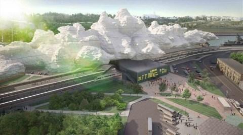 Sıradışı Bir Tren İstastonu Tasarımı!