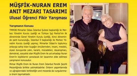 Müşfik-Nuran Erem Anıt Mezarı Tasarımı Ulusal Öğrenci Fikir Yarışması