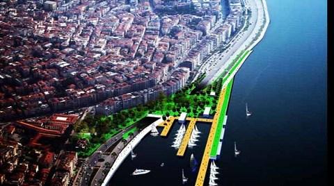İşte İzmir'in Kıyı Şeridi Böyle Olacak!