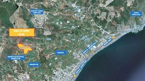TOKİ Antalya'da Turizm Kompleksi İçin Arsa Satacak!