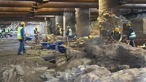 Selanik Metrosu da 'Arkeolojik' Kriz Sebebi
