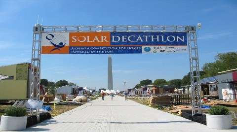 """İşte ODTÜ'nün """"Solar Decathlon"""" Binası!"""