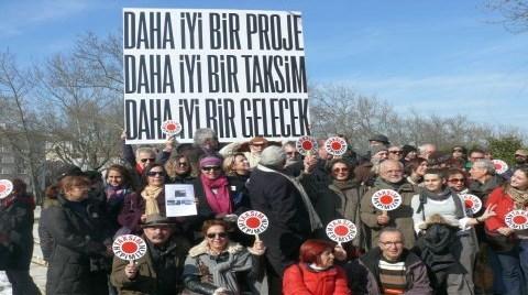 Alternatif Taksim Projesini Anlatacaklar