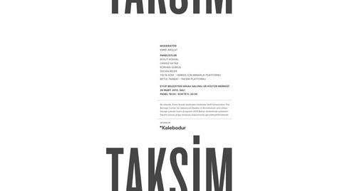 EAA'dan Taksim Paneli