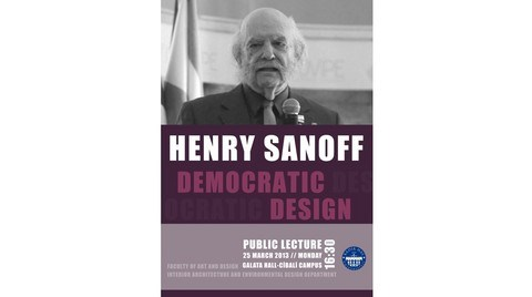 Henry Sanoff'dan Demokratik Tasarım Dersi