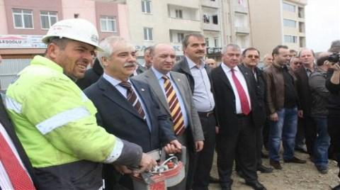 Trakya'nın En Büyük Projesinde İlk Beton Atıldı