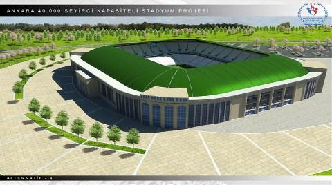 İşte Ankara'nın Yeni Stadı!