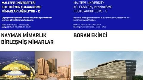 """Maltepe Üniversitesi """"Koleksiyon / İstanbulSMD Mimarları Ağırlıyor 2"""""""