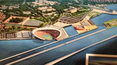 İstanbul'a Olimpiyat Sürprizi: Boğaz Stadı!