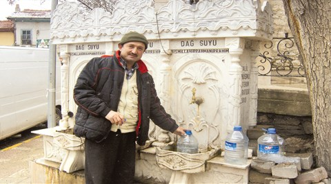 Kütahya'da Çeşmelerden 'Arsenik' Aktı