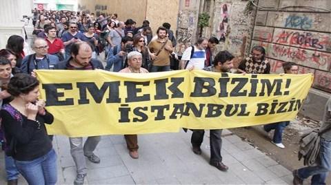 Beyoğlu'nda Emek Protestosu!