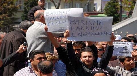 Çekmeköy'de 2B Protestosu