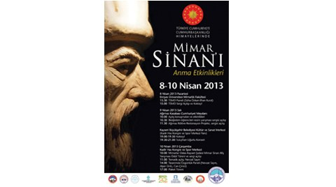 Mimar Sinan'ı Anma Etkinlikleri 2013