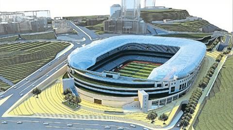 Yeni İnönü Stadı için Onay Bekleniyor