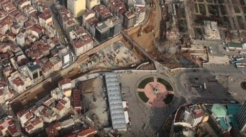 Taksim Meydanı'nın Açılış Tarihi Belli Oldu