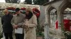 Mimar Sinan'ın Süleymaniye'de bulunan türbesinde düzenlenen anma töreninde İstanbul Şube'nin basın açıklamasını Oda Yönetim Kurulu Üyesi Zeynep Eres okudu