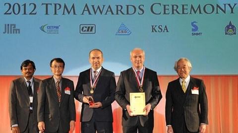 Japonya'dan Vestel'e 'Mükemmel Fabrika' Ödülü